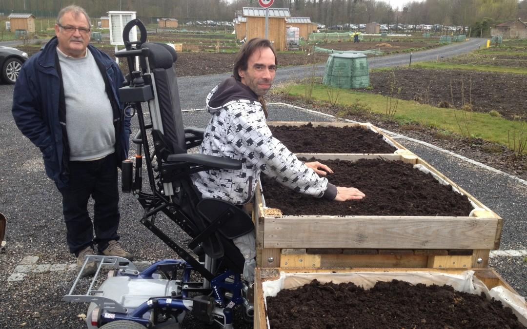 Les Jardins familiaux veulent dépasser le handicap