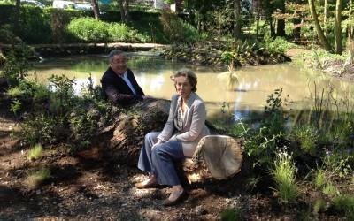 Parc Kennedy le 6 et 7 Juin 2015 aménagement avec les Jardiniers de la ville
